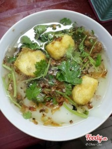 Banh Duc- Rice Cake at 8 Le Ngoc Han alley