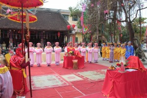 Festival of Mang Son Temple in Hanoi