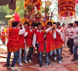 Lai Tao Village Festival in My Duc, Hanoi