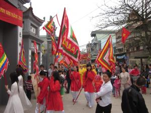 Festival of Thanh Am Village in Gia Lam, Hanoi