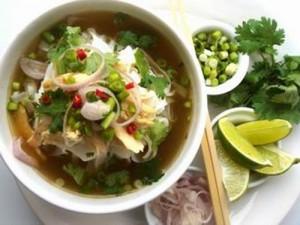 "Vietnamese Noodle Soup ""Pho"" in Hanoi"