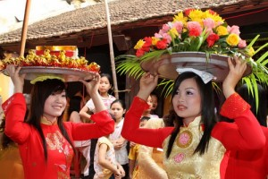Festival of Ta Xa Village at Phu Xuyen, Hanoi