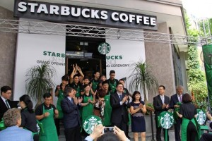 "Attack Hanoi with Three Stores in ""Dreamy"" positions Catching Starbucks Fever"