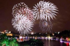 Fireworks Displays at 30 Places to celebrate 60 years of Capital Liberation