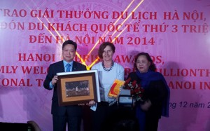 Hanoi Welcomes The 3 Million International Tourists