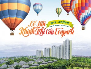 The Hot Air Balloon Festival Is Coming In Ecopark Hanoi
