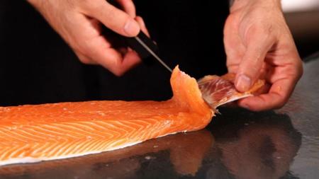 Salmon Banquet in Hanoi Fortuna Hotel (1)