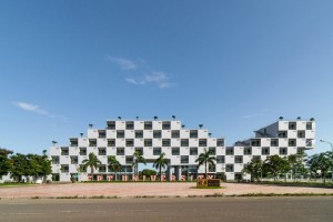 FPT University With Uniquely Designed Building