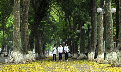 Peaceful Hanoi In Early Days Of Autumn  (1)