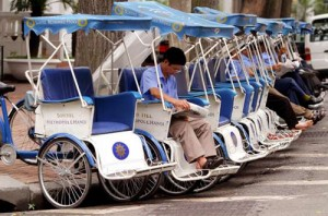 Vietnam's Cyclos In World Top Unique Vehicles