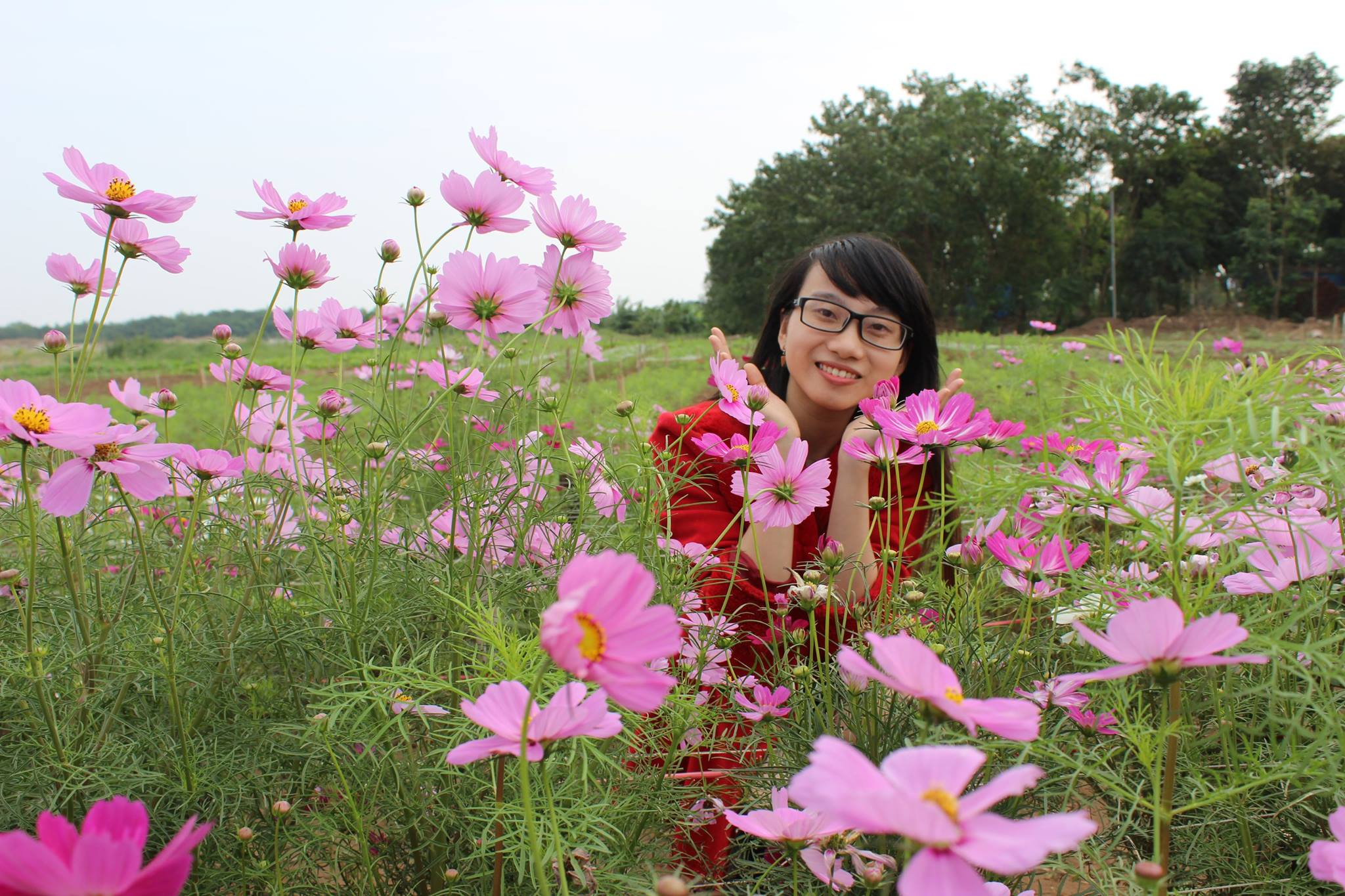Flower Red River Ground Attracts A Lot Of Visitors  (4)