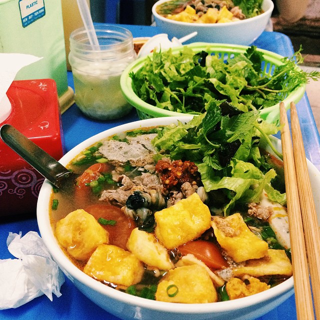 Hanoi Cuisine Enjoy A Bowl of Vermicelli Soup (5)
