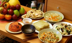 Vietnamese Traditional Dishes at Tet Holiday