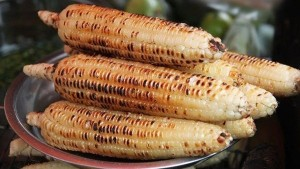 Grilled corn – A winter snack of Hanoians
