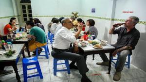 Have you ever eaten Bun Cha Hanoi yet ?
