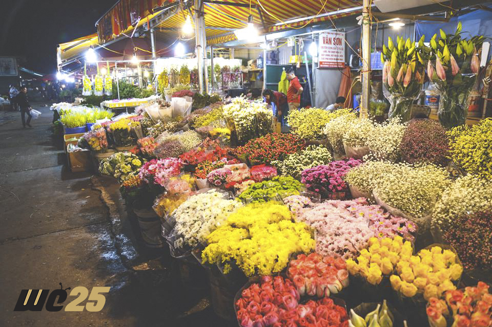 There are various kinds of flowers with the different sorts, colors, smells...