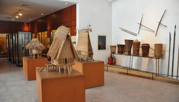 Inside Vietnam museum of ethnology