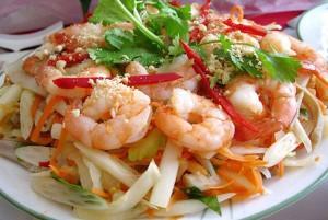 Vietnam lotus Root Salad