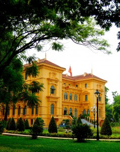 Presidential palace, the residence of Vietnam greatest leader