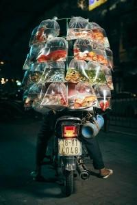 Photo of Vietnamese fish seller wins prestigious American photo contest