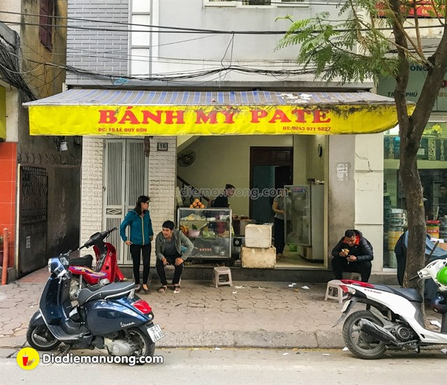 16 Le Quy Don where you can taste the best Banh Mi at pleasing costs