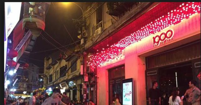 1900 Le Theatre-the brightest star in the sky of night clubs in non-sleeping Ta Hien street
