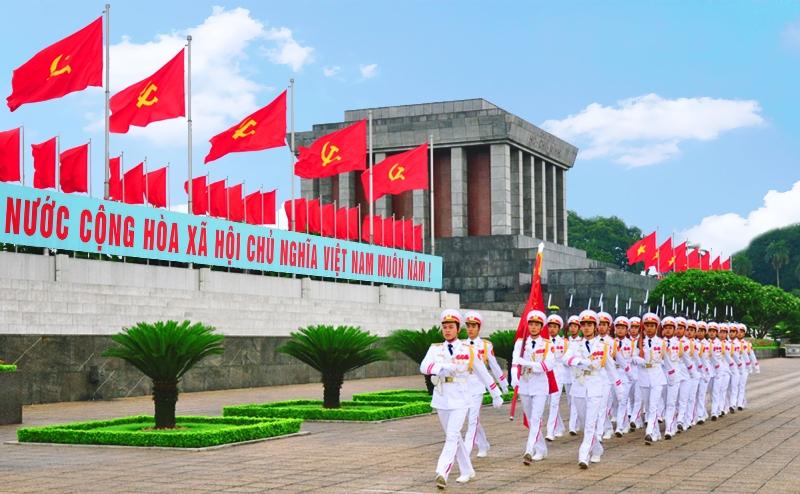 Ho Chi Minh mouselum